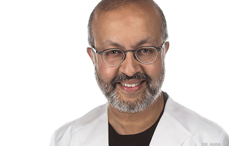 Dr Mahmood Kara, a plastic surgeon in Toronto, Ontario.